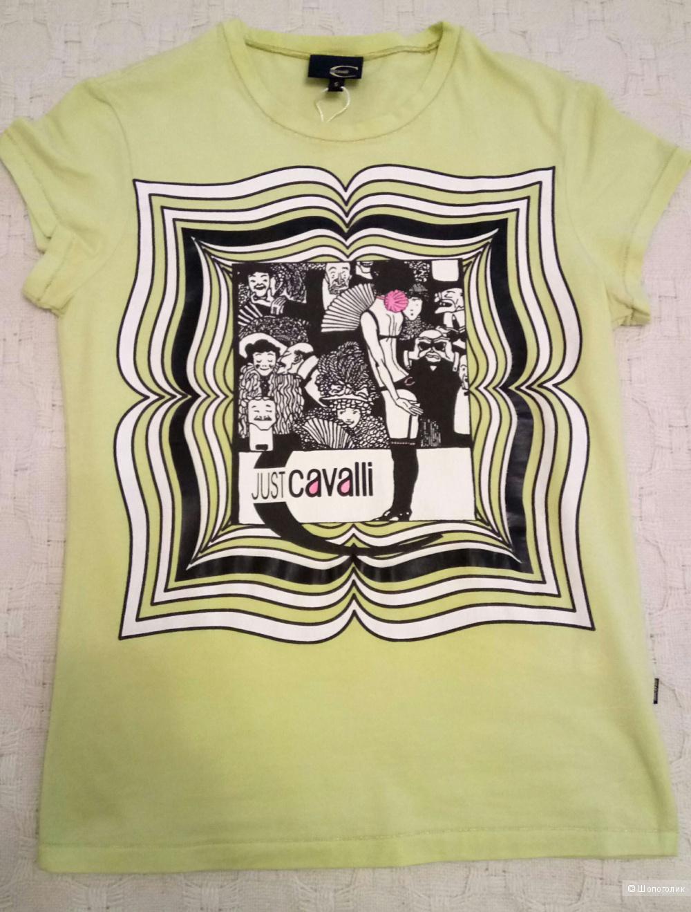Новая футболка Cavalli, размер S