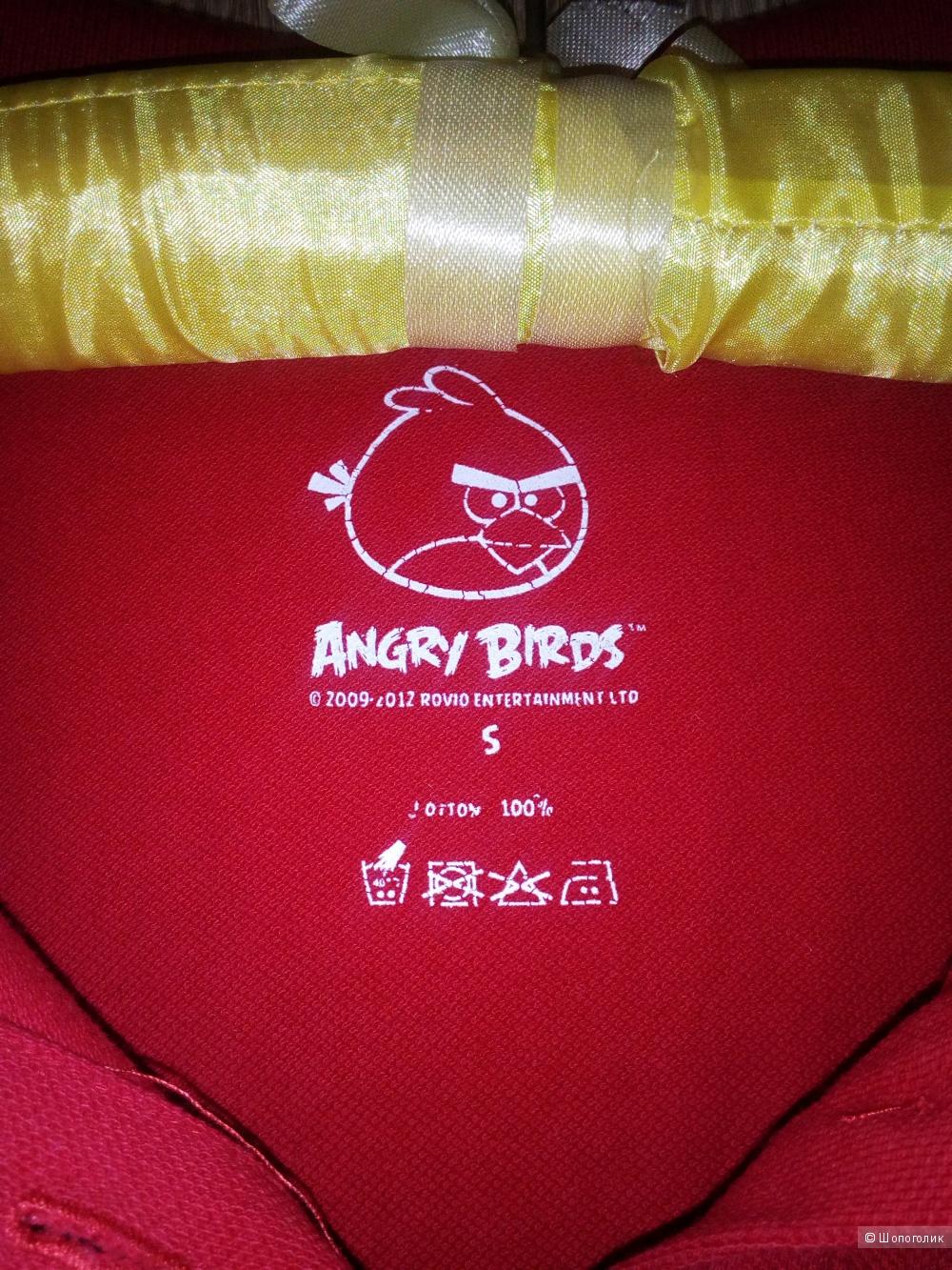 Поло молодежное, Angry Birds,  р. S
