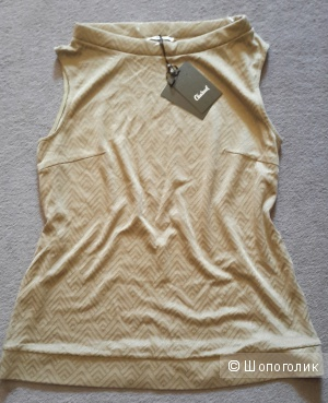 Блузка женская Charuel темно-бежевого цвета размер 50