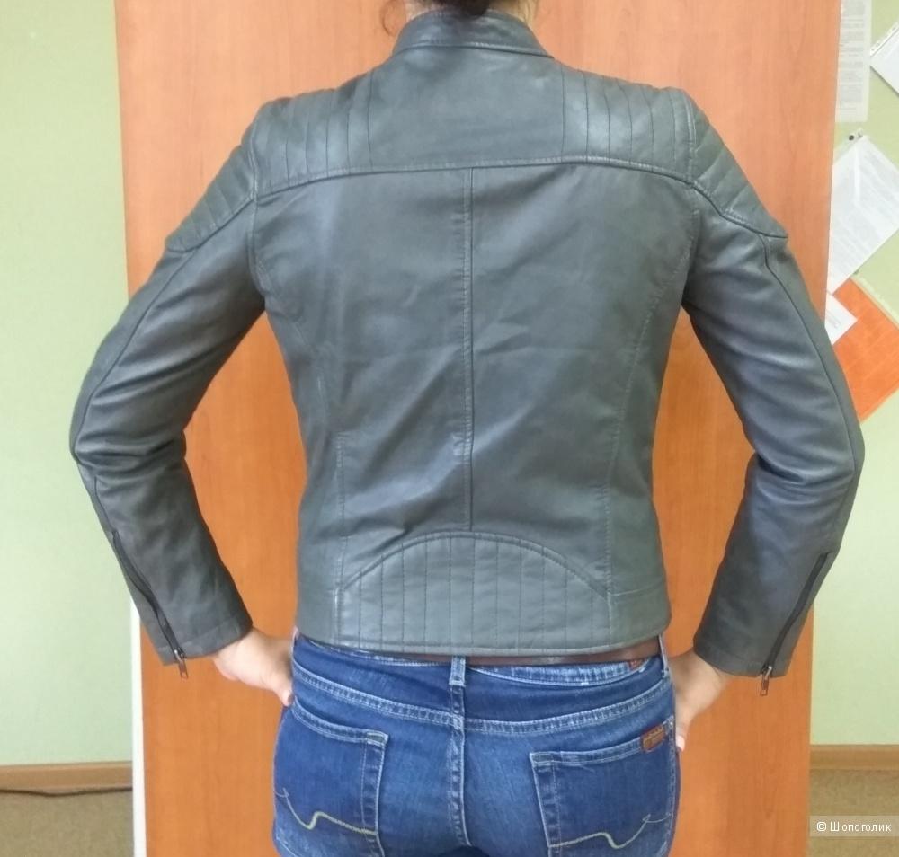 Новая куртка из натуральной кожи, Barneys, р.44-46