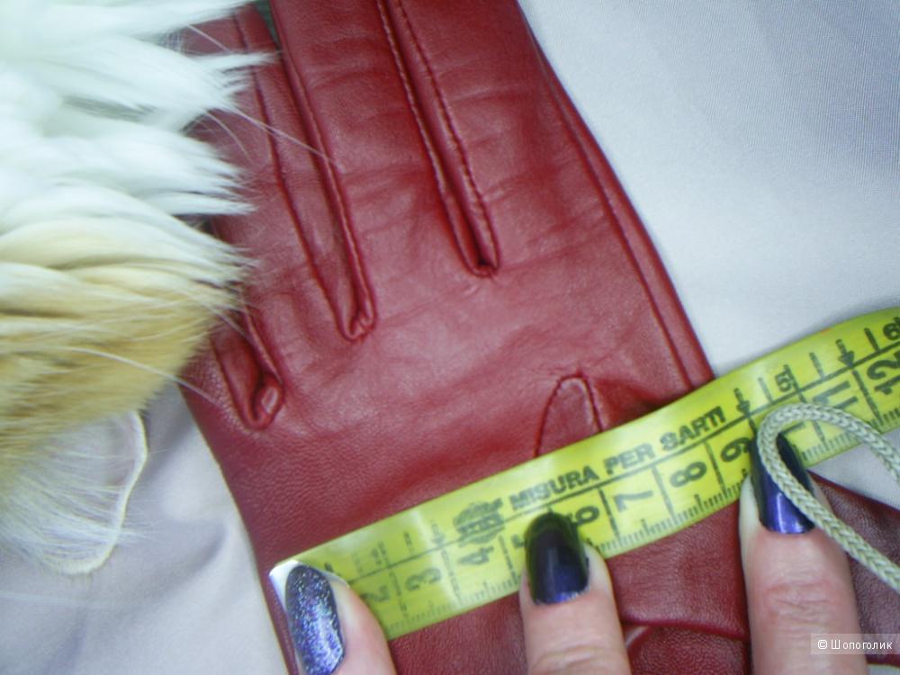 Кожаные перчатки от M&S p.M.