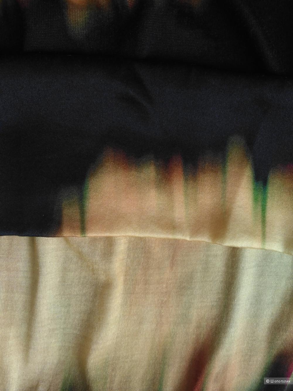 Платье из натурального шелка, М, 46 размер.