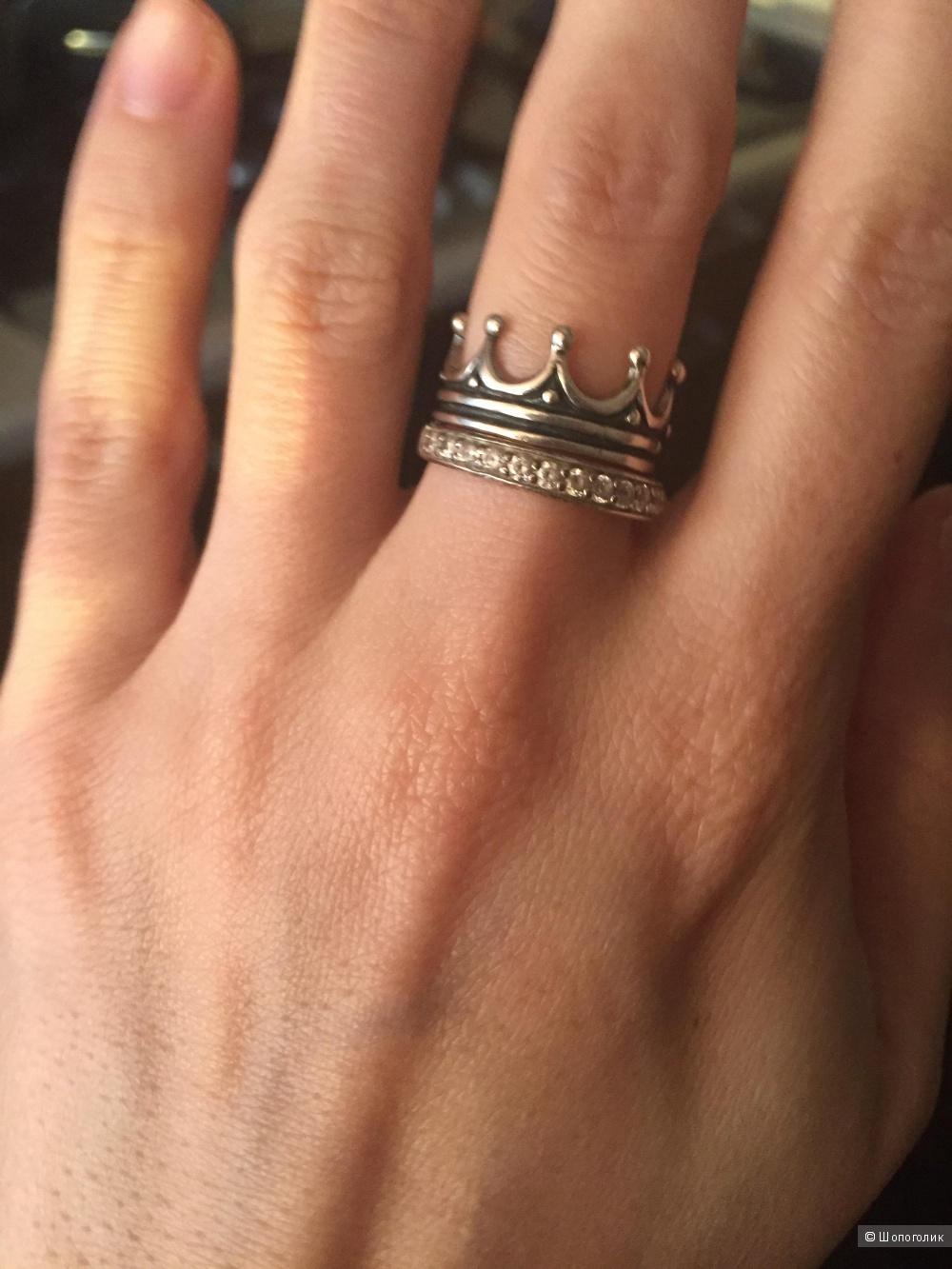 Новое кольцо из серебра 16,5 размер
