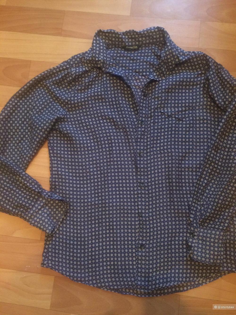 Рубашка Massimo Dutti  42/44р
