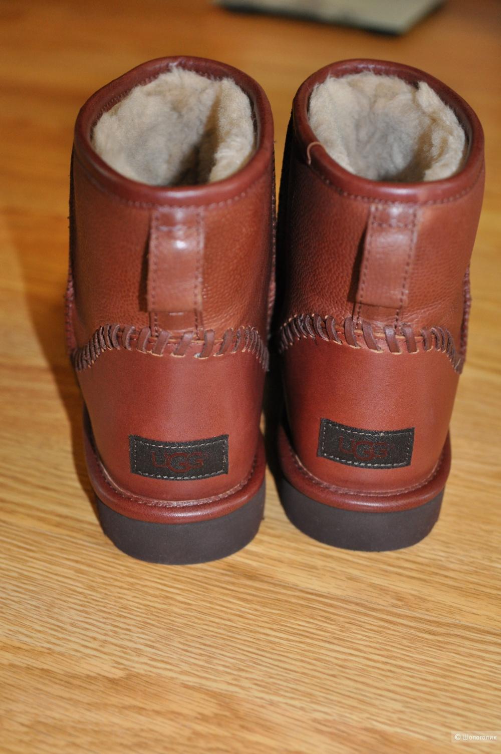 ab1f3673390 Продам мужские кожаные UGG Classic Mini Deco Scotch Grain, размер 9 ...
