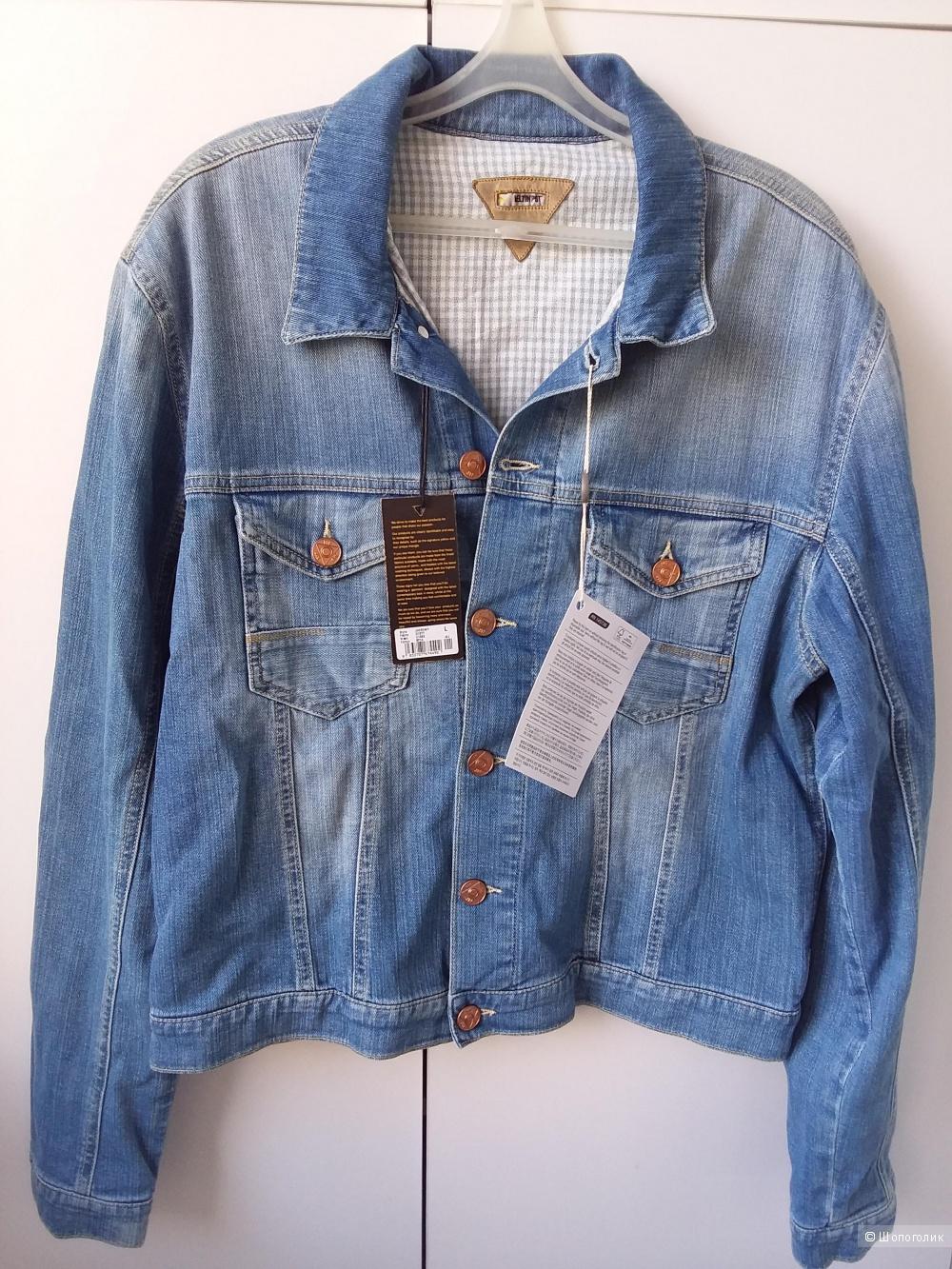 Новая летняя мужская джинсовка MELTIN POT размер L