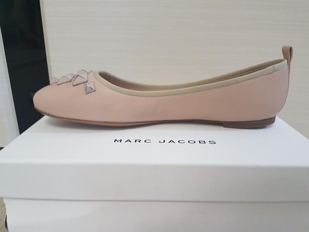 Балетки Marc Jacobs, 1ая линия бренда, цвет nude, размер 39-39.5