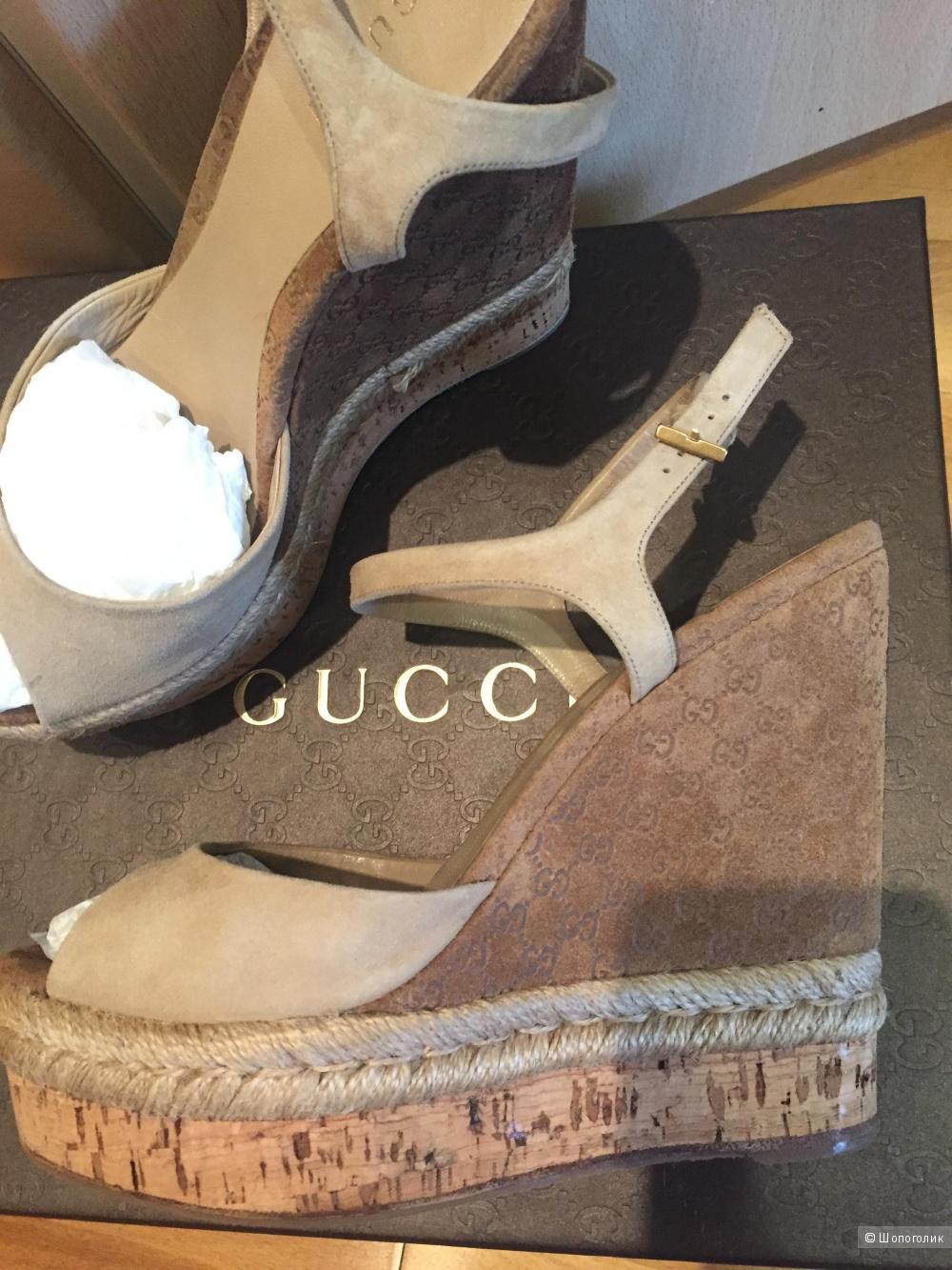 Gucci босоножки , 37,5 р