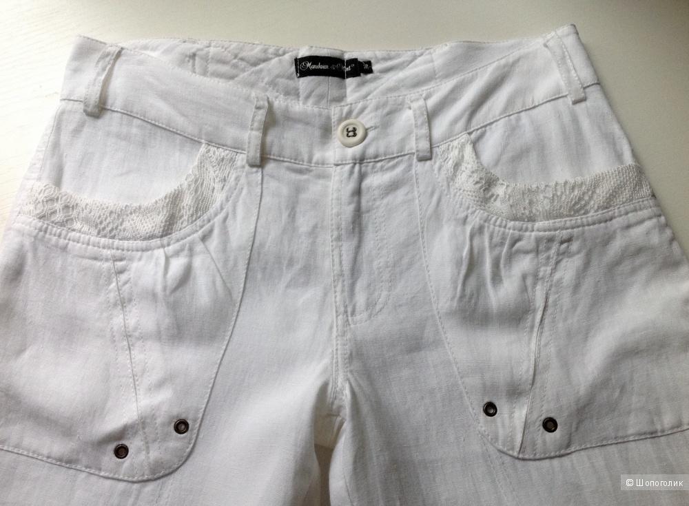 Льняные брюки Mandarin & Mint, размер 44.