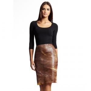 Custo Barcelona юбка из жатой органзы р.44 Новая