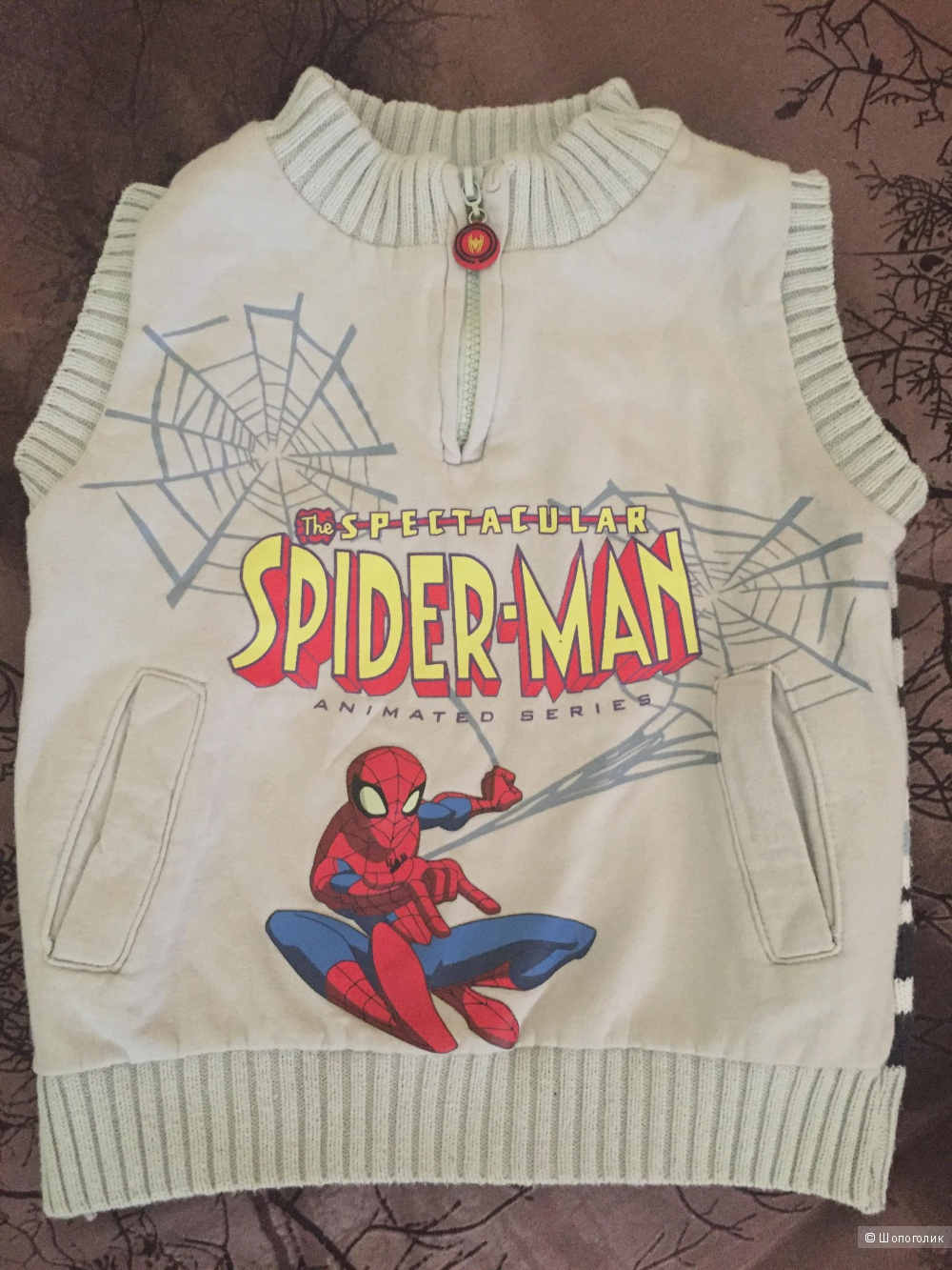 Жилетка для мальчика Marvel Playtoday Spider-Man 98 размер