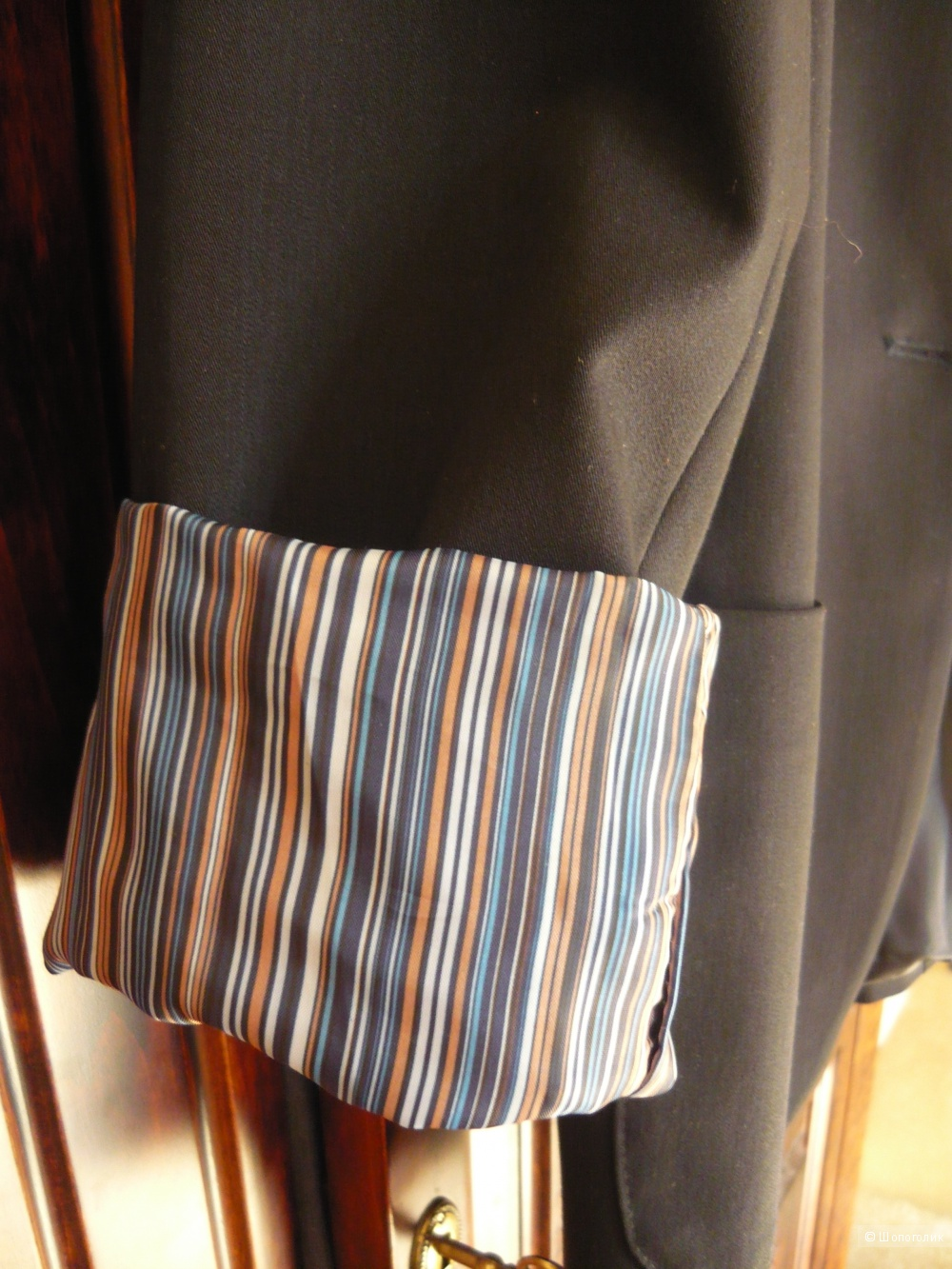 Пиджак с манжетами, размер L