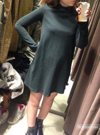 Хлопковое платье Zara, размер S (русский 40-42)