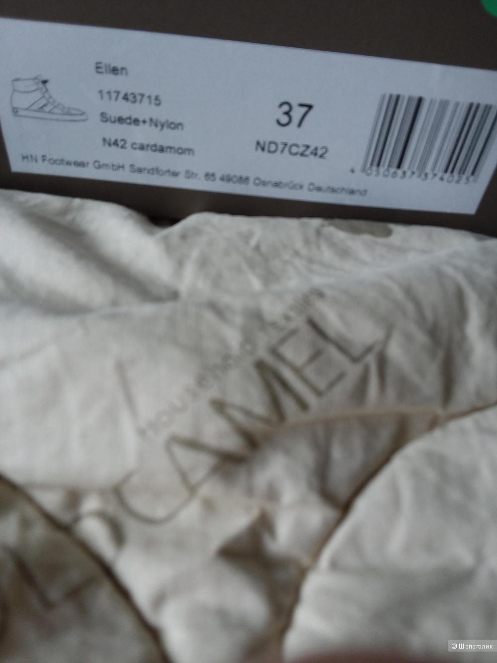Новые замшевые ботинки NAPAPIJRI 37 размер