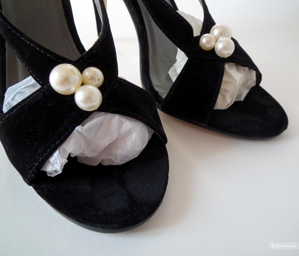 Туфли из искусственной замши, женские, размер 37,5-38