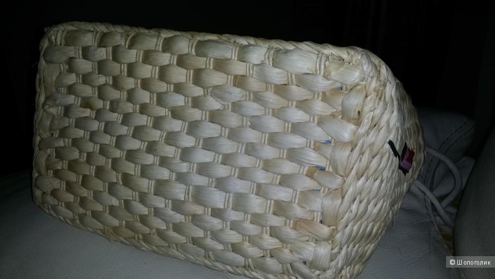 Сумка плетеная, ручная работа  (Италия)
