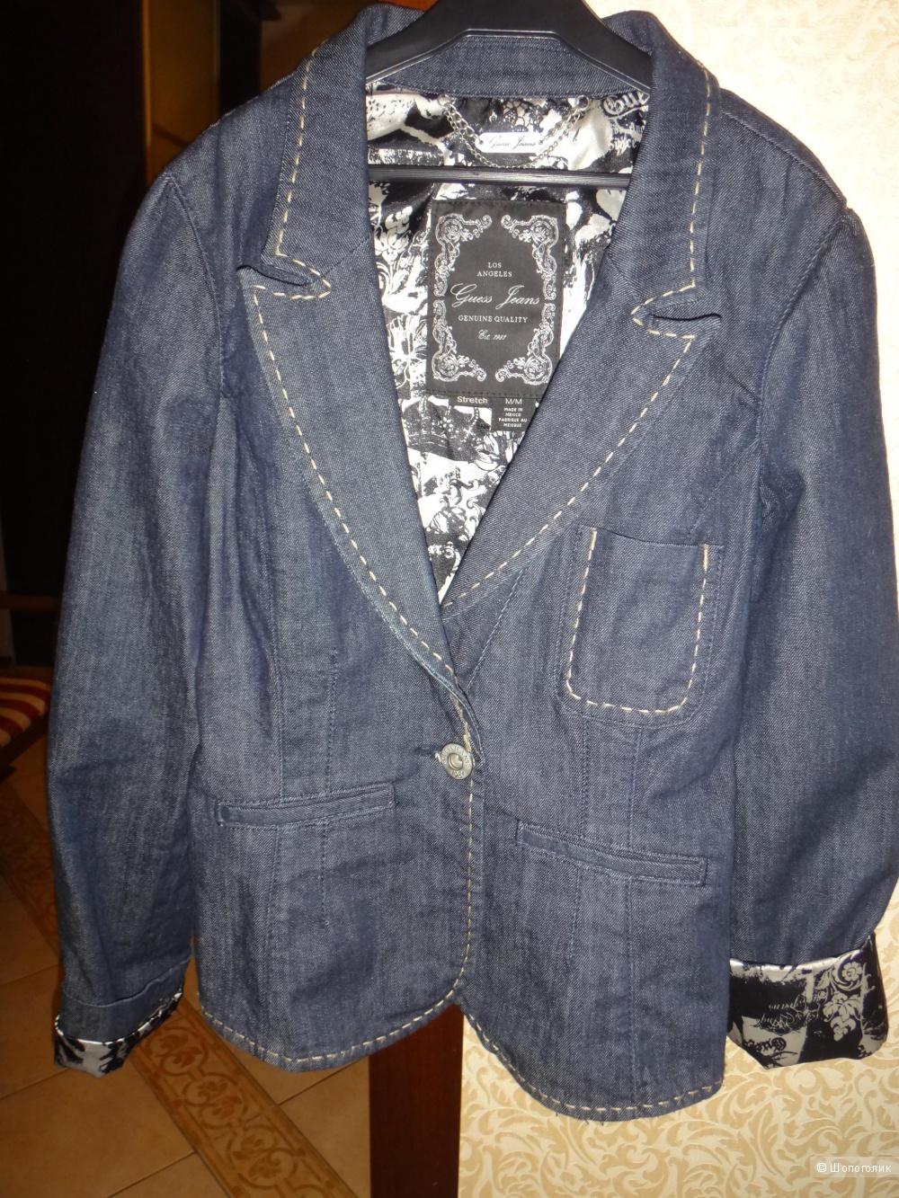 Пиджак джинсовый 44-46 размер