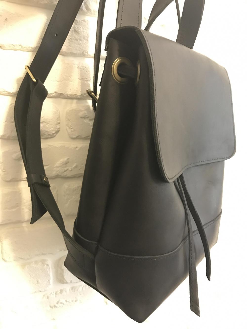 Кожаный рюкзак эксклюзив