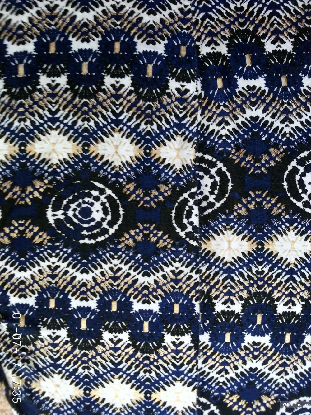 Легкое платье вискоза из Лондона размер 46-48
