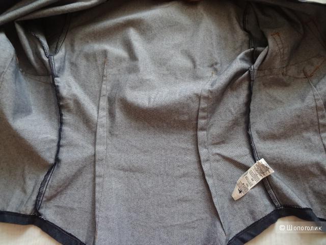 "Рубашка джинсовая ""Zara"", размер 40-42, б/у"