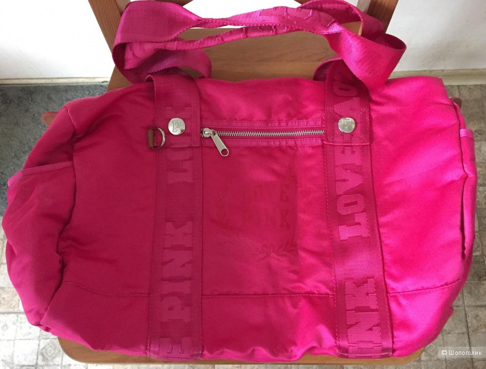 Сумка Victoria's Secret Pink.