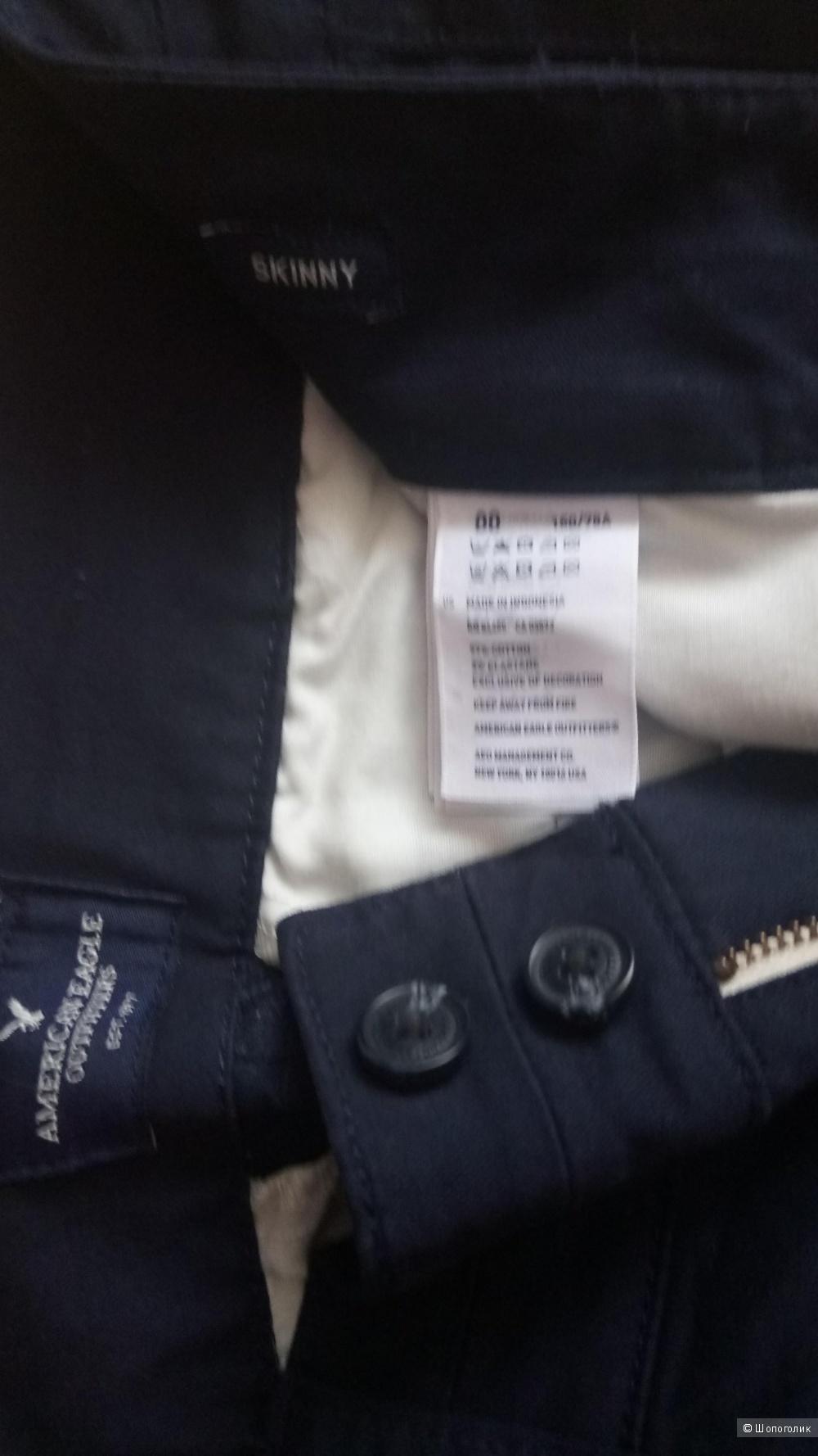 Новые брюки American Eagle, размер 00