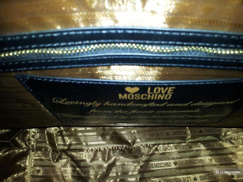Сумка шоппер Love Moschino новая