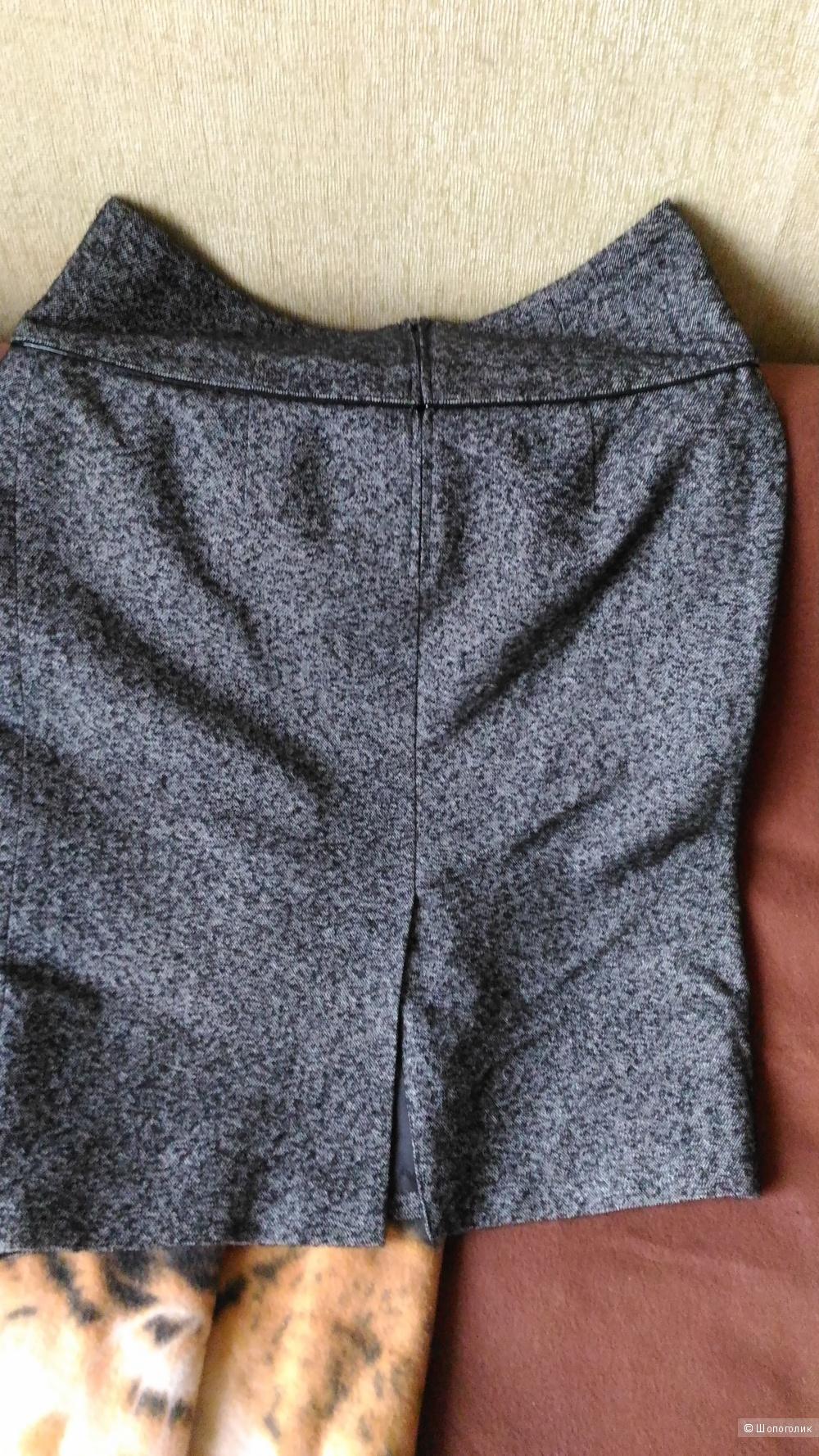 Серая юбка, фирма Stailmann, размер 46