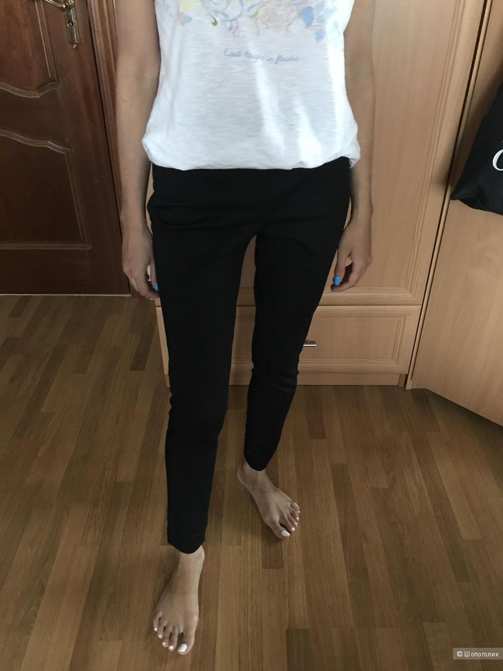 Классические черные брюки Uterque, размер XS