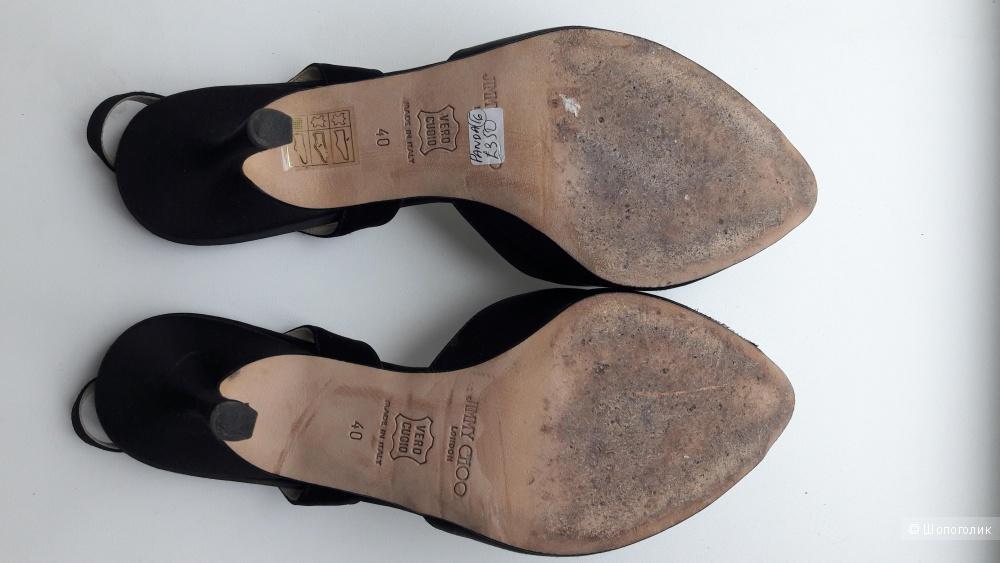 Туфли с открытым носом Jimmy Choo размер 40