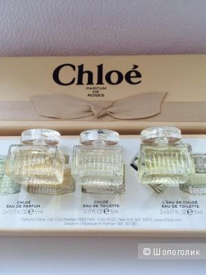 Коллекция миниатюр Chloe parfum de roses