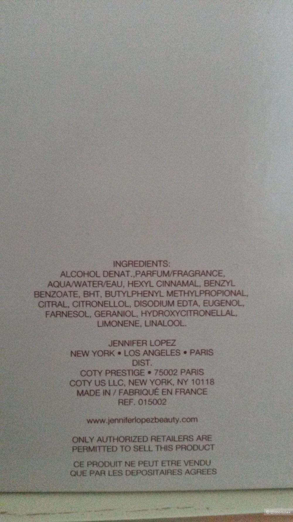 Парфюмированная вода Still от Jennifer Lopez 100 мл.