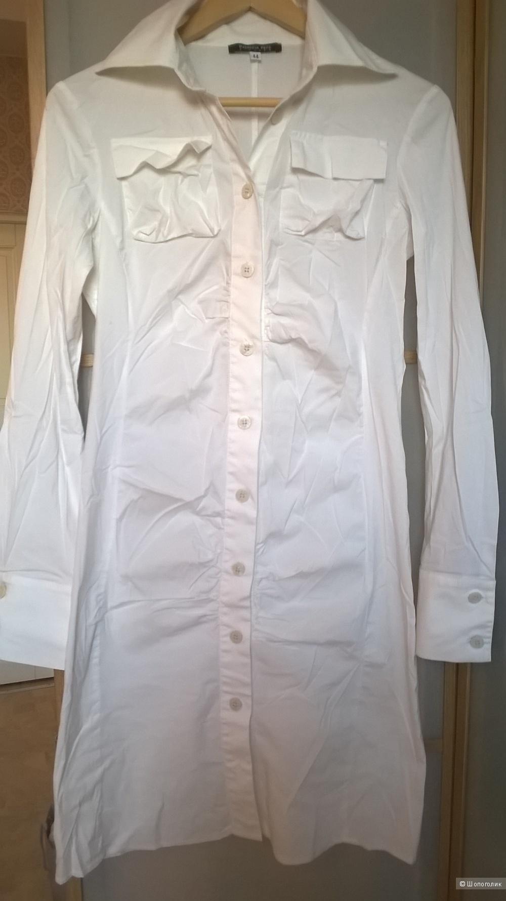 Платье-рубашка PATRIZIA PEPE  S размер ( 42-44 рос.) 44 итал.