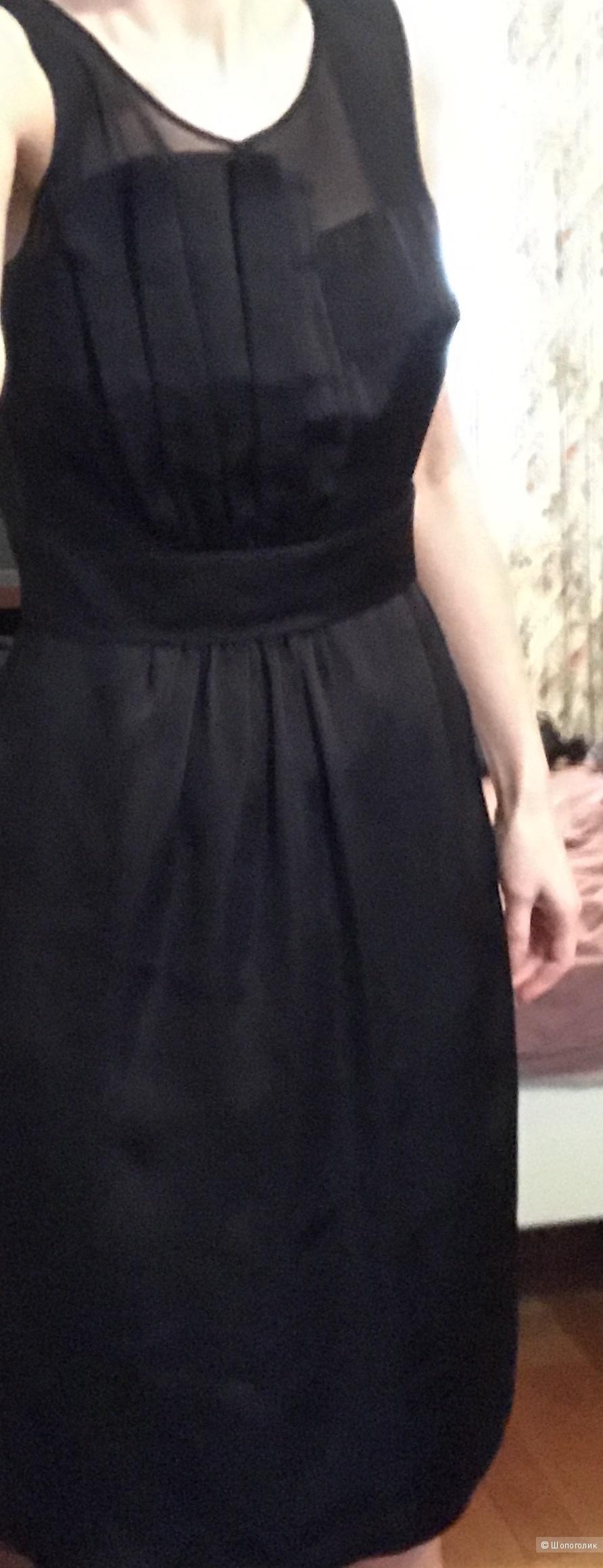 Платье вечернее чёрное Bessini Италия 42-44р