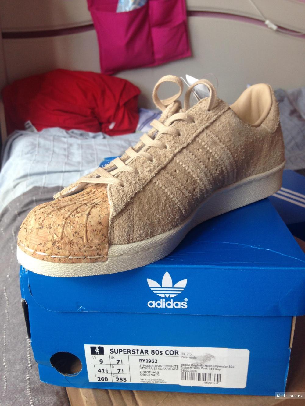 Кроссовки-кеды от Adidas, размер UK7,5, на наш, думаю, 40 или чуть больше