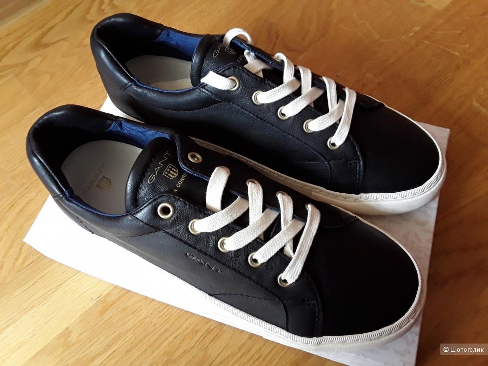 Черные кожаные кеды Gant 38 р. женские