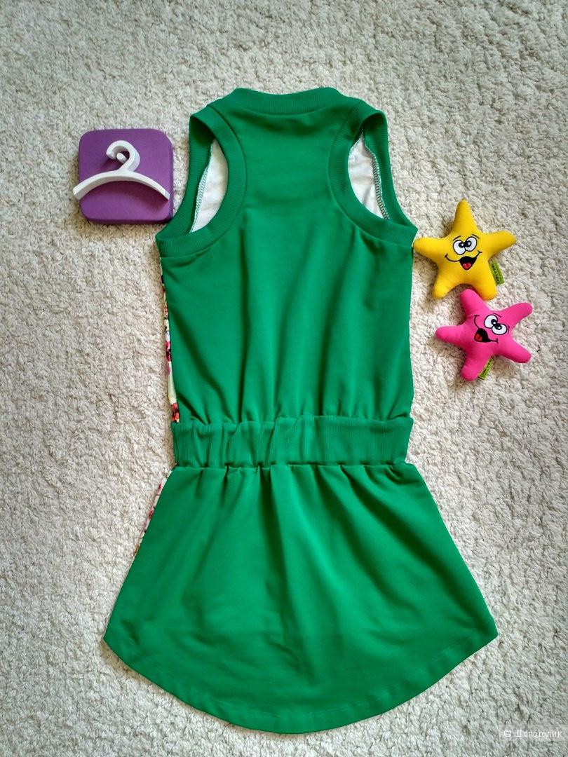 Платье-туника с ассиметричным кроем COCONUDINA (Италия). Размер 5 лет.
