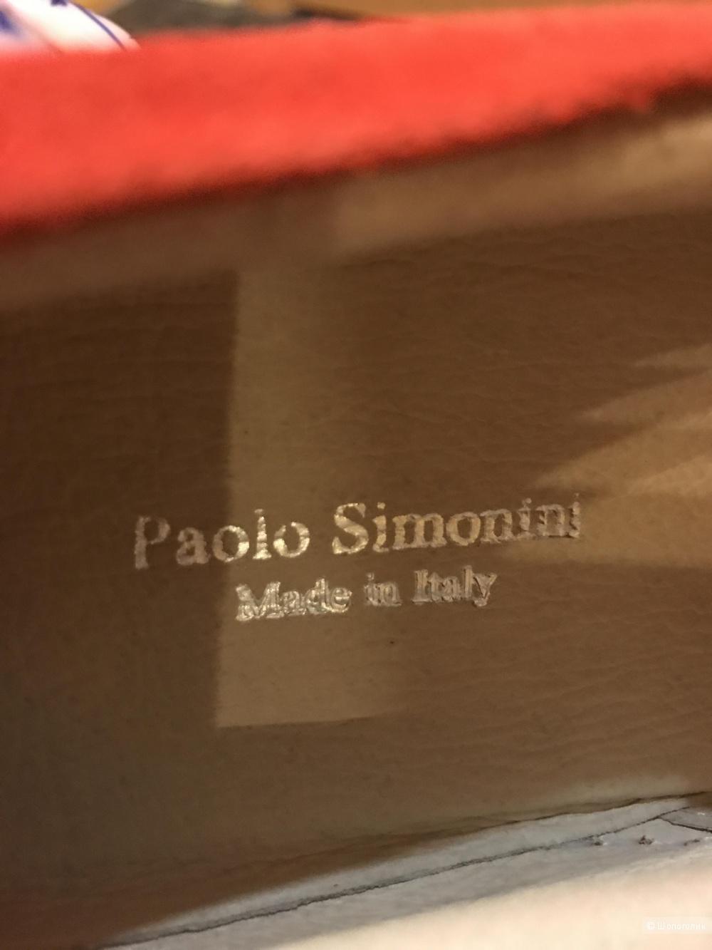 Слипоны Paolo Simonini р.39