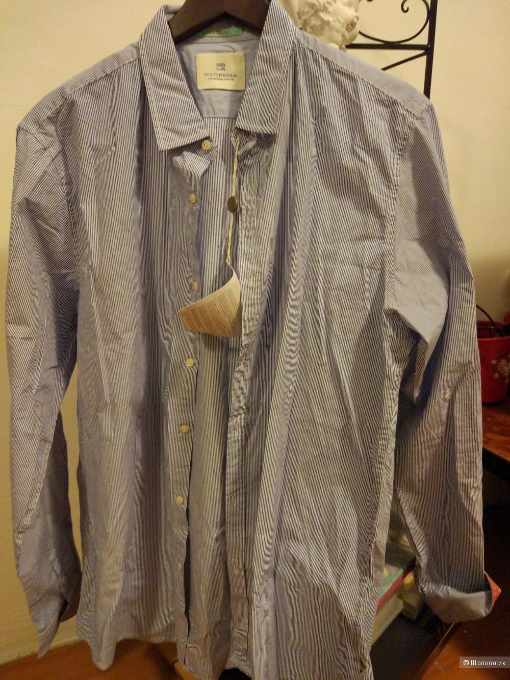 Мужская рубашка 54
