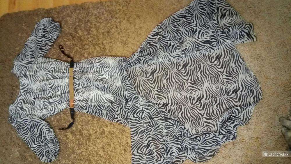 """Шифоновое платье """"Love republic"""",42-46 размеры"""