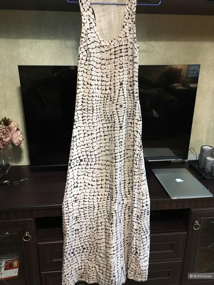 Роскошное шелковое платье Ted Baker 40-42 размер