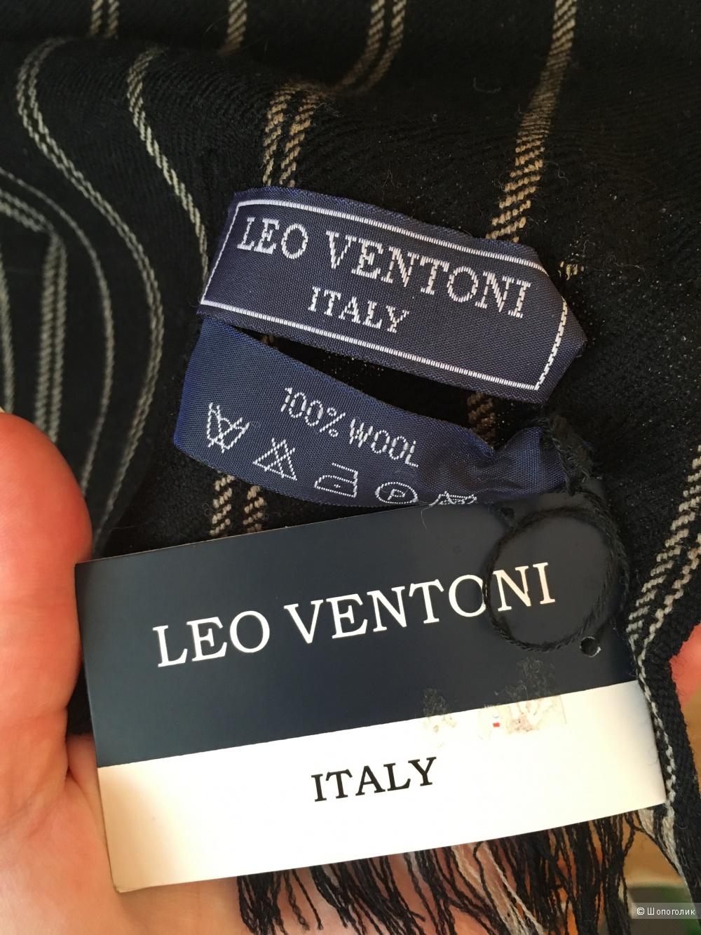 Leo Ventoni Шарф мужской шерстяной Новый Италия