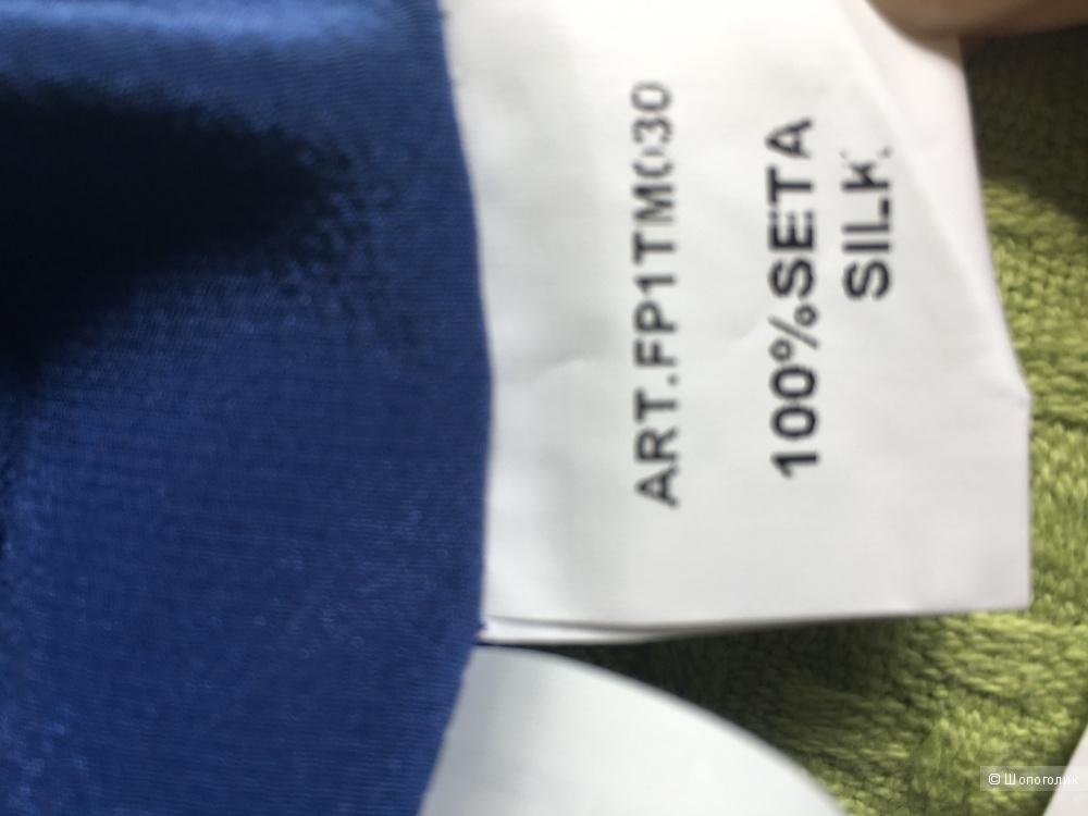 Новые итальянские брюки из натурального шёлка 44it
