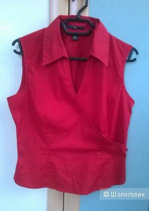 Топ блузка с запАхом 44-46 размер