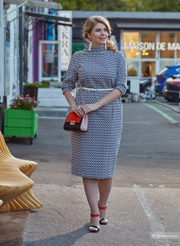 """Платье из жаккарда от бренда """"W&B"""" р.58-60"""
