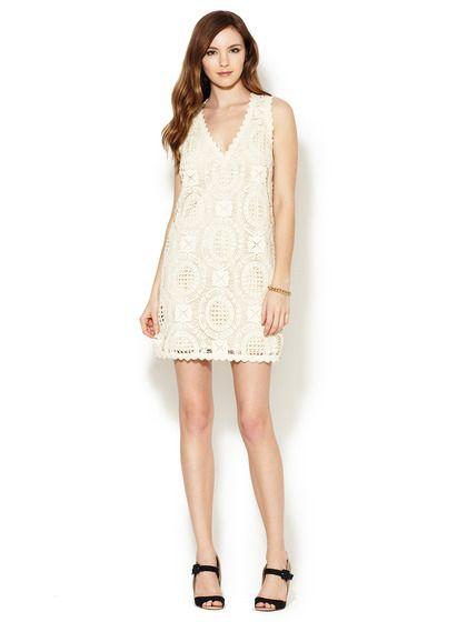 Шикарное кружевное платье French Connection 40-42 размер