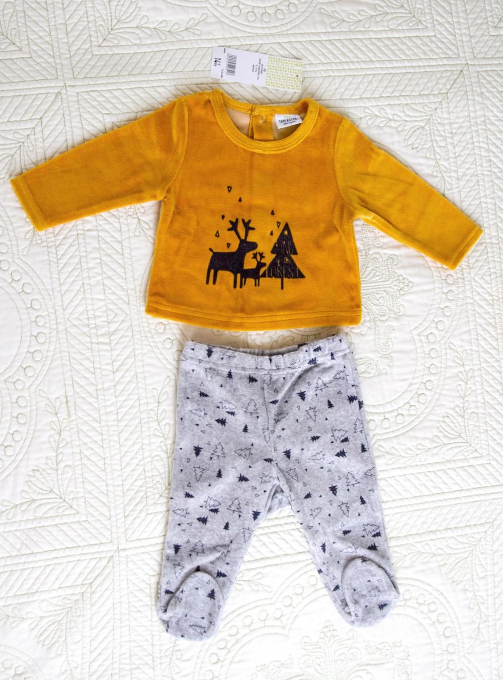 Новая пижамка ТАО на 3 мес.