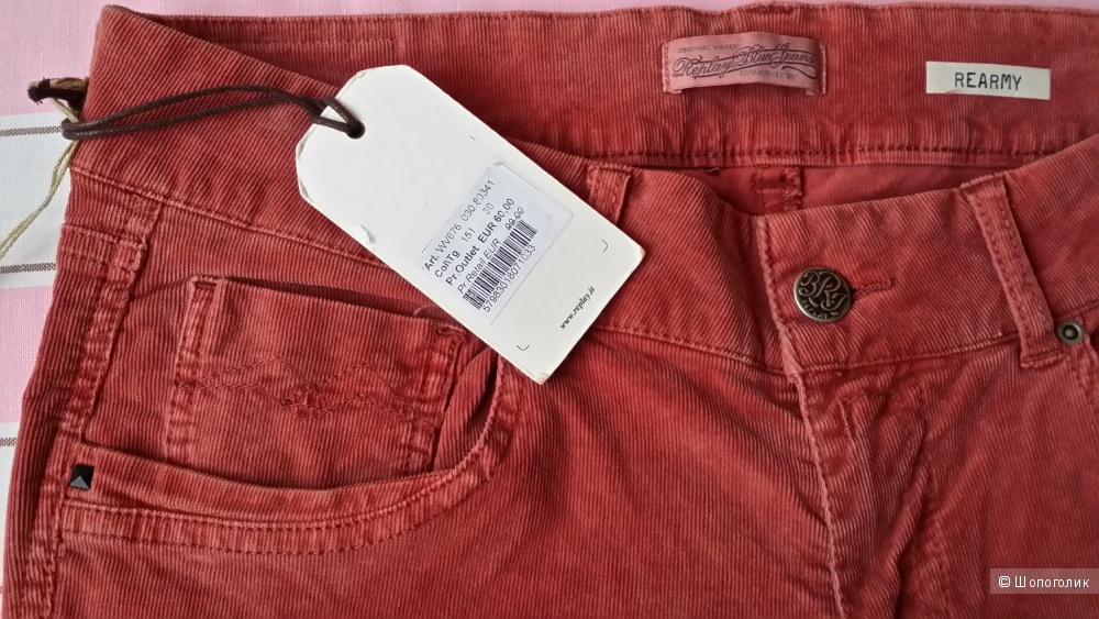 Replay вельветовые джинсы