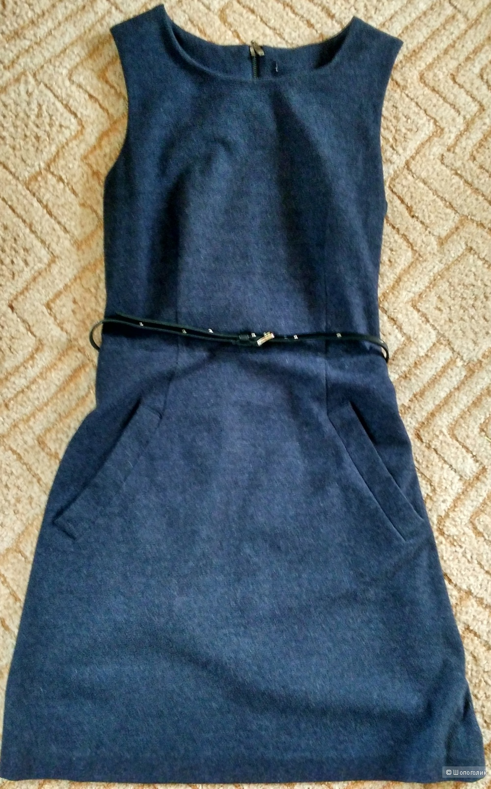 Платье с шерстью размер М