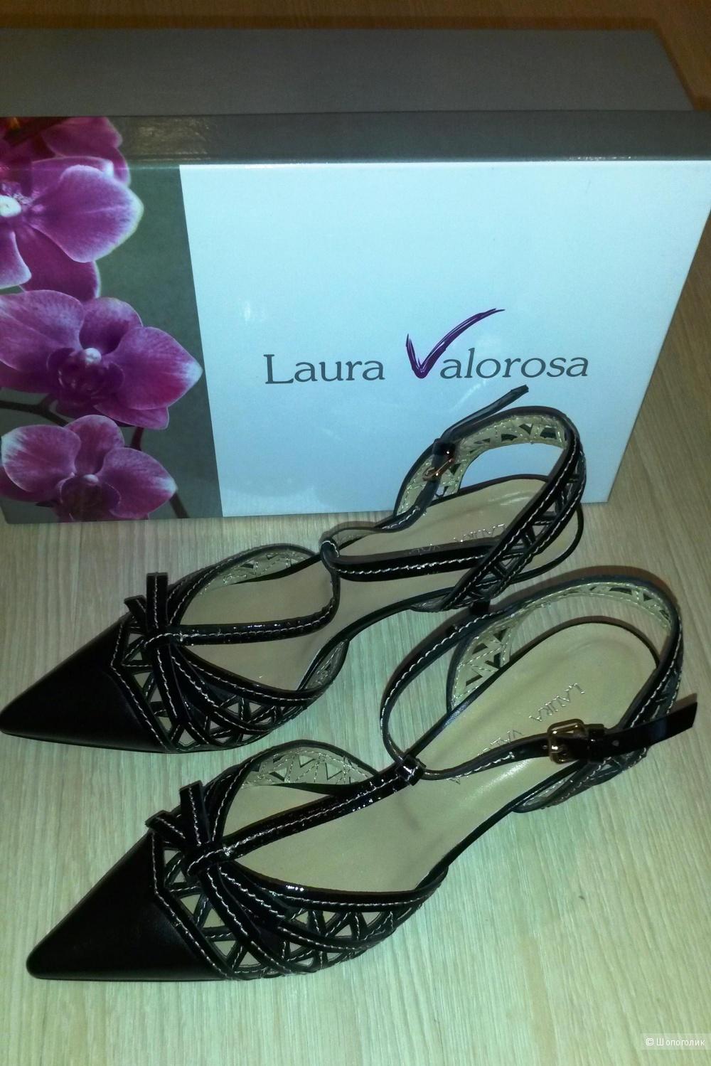 Туфли женские из натуральной кожи Laura Valorosa 37 размера